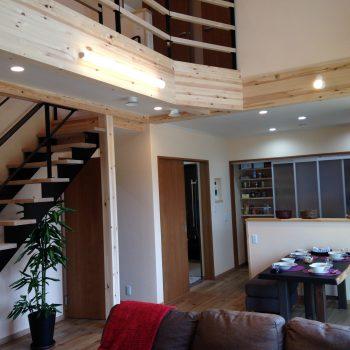 階段から始まった家づくり